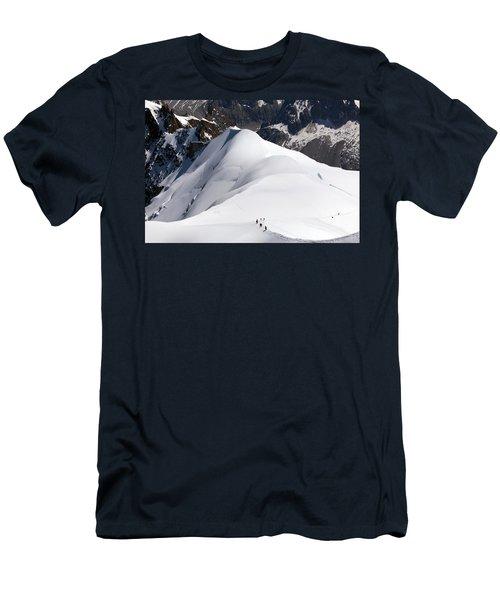View From Aiguille Du Midi Men's T-Shirt (Athletic Fit)