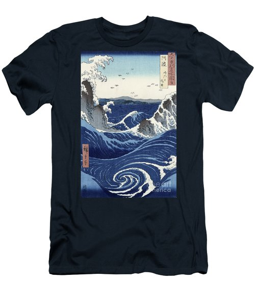 View Of The Naruto Whirlpools At Awa Men's T-Shirt (Athletic Fit)