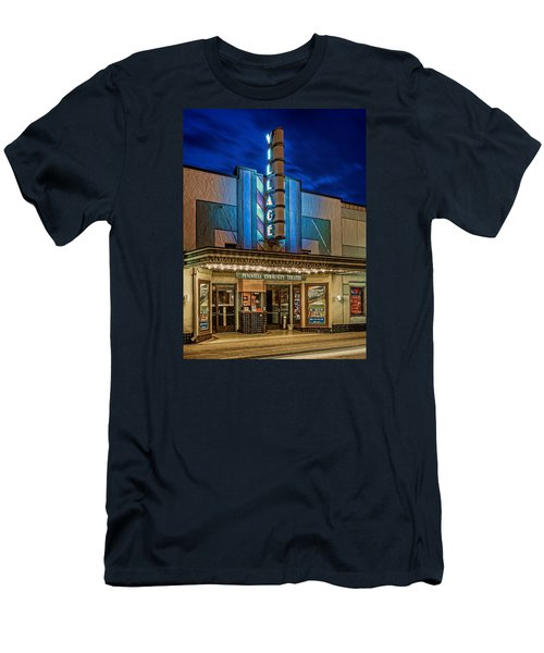 Village Theater Men's T-Shirt (Slim Fit) by Jerry Gammon