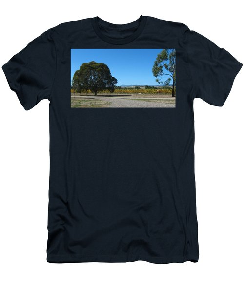 Vineyard Trees Men's T-Shirt (Athletic Fit)