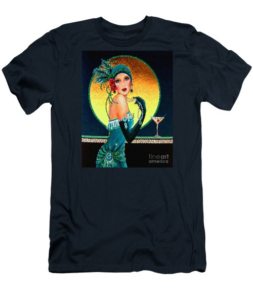 Vintage 1920s Fashion Girl  Men's T-Shirt (Athletic Fit)
