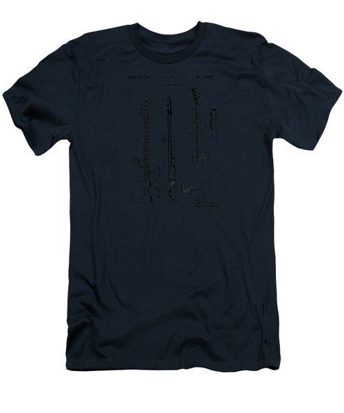 Vintage 1953 Fender Base Men's T-Shirt (Athletic Fit)