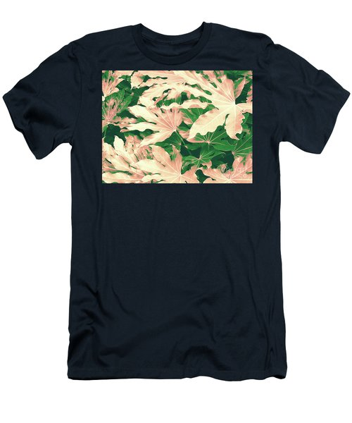 Vintage Season Pink Men's T-Shirt (Athletic Fit)