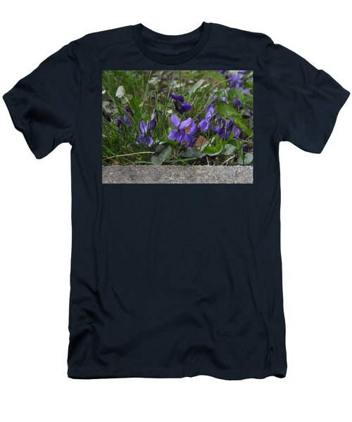 Violets Men's T-Shirt (Athletic Fit)