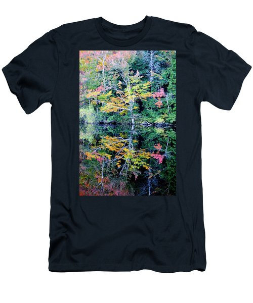 Vivid Fall Reflection Men's T-Shirt (Athletic Fit)