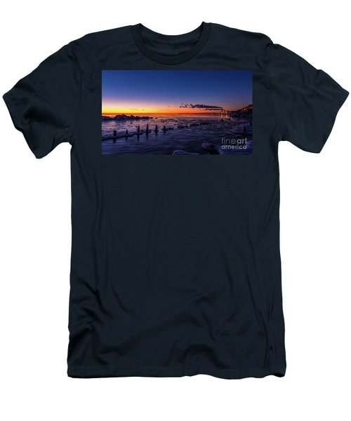 Voilet Morning Men's T-Shirt (Athletic Fit)