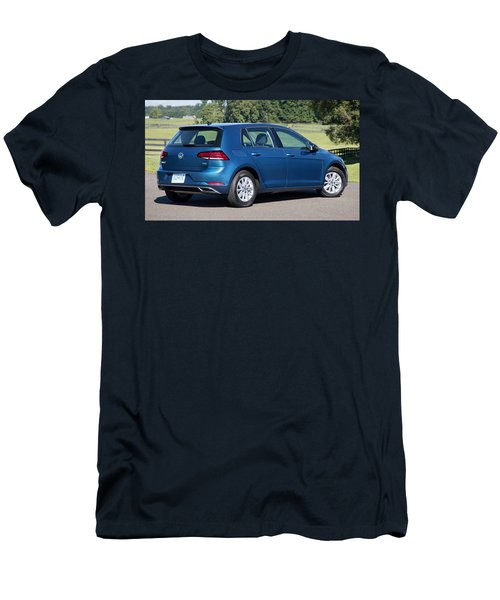 Volkswagen Golf Tsi Men's T-Shirt (Athletic Fit)