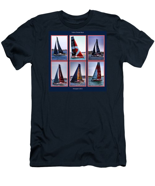 Volvo Ocean Race Newport 2015 Men's T-Shirt (Athletic Fit)