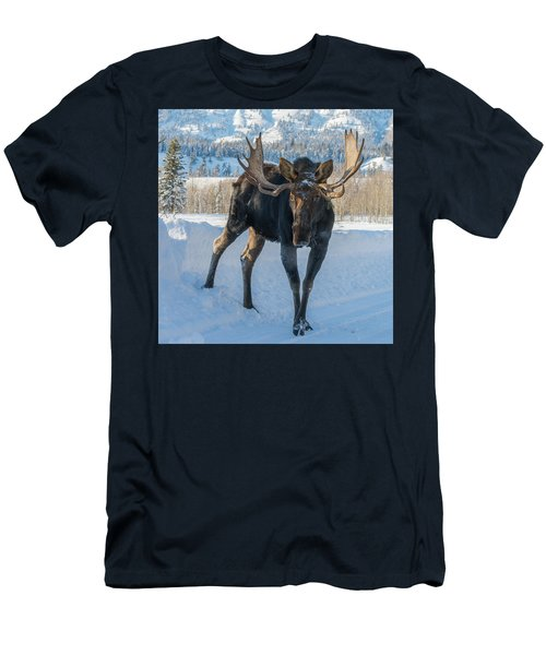 Walkin' The Road Men's T-Shirt (Athletic Fit)