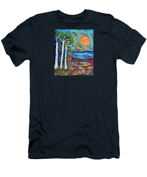 Warmth Of The Sun Men's T-Shirt (Slim Fit) by Haleh Mahbod
