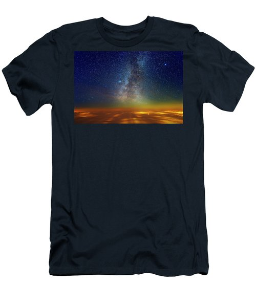 Warp Speed Men's T-Shirt (Athletic Fit)