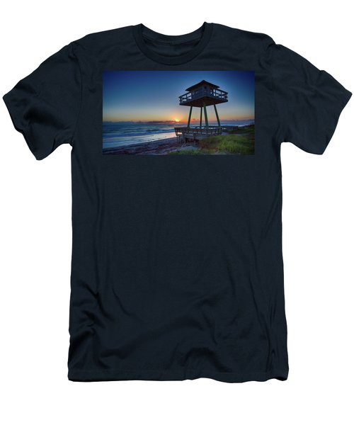 Watch Tower Sunrise 2 Men's T-Shirt (Athletic Fit)