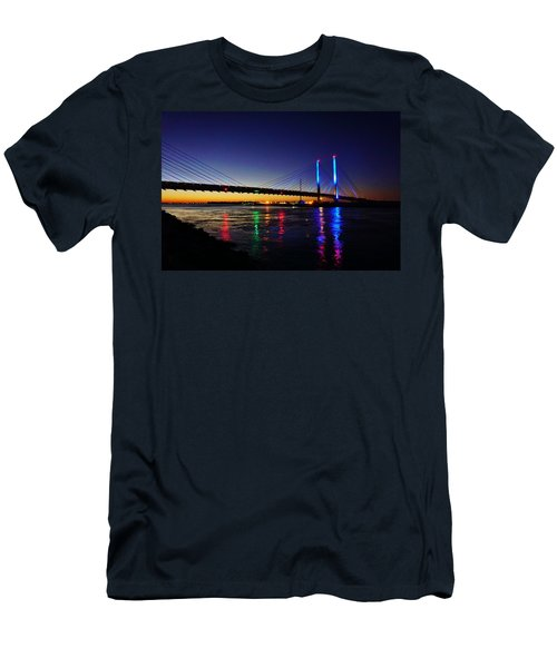 Men's T-Shirt (Athletic Fit) featuring the photograph Water Colors by Ed Sweeney