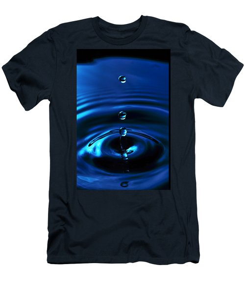 Water Drop Men's T-Shirt (Slim Fit) by Marlo Horne