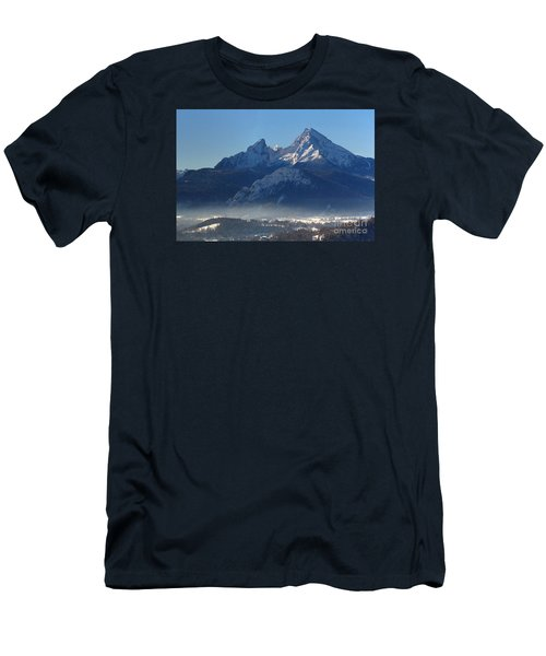 Watzmann Bavaria 1 Men's T-Shirt (Slim Fit) by Rudi Prott
