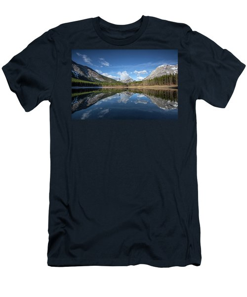 Wedge Pond Reflections Men's T-Shirt (Athletic Fit)