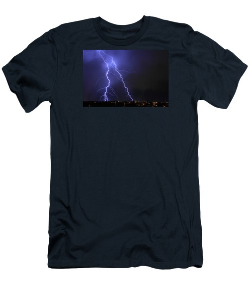 West Jordan Lightning 1 Men's T-Shirt (Athletic Fit)