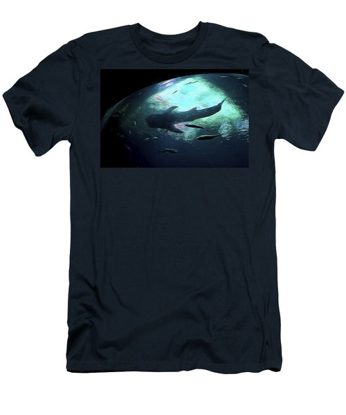 Whale Shark Of The Earth Men's T-Shirt (Athletic Fit)