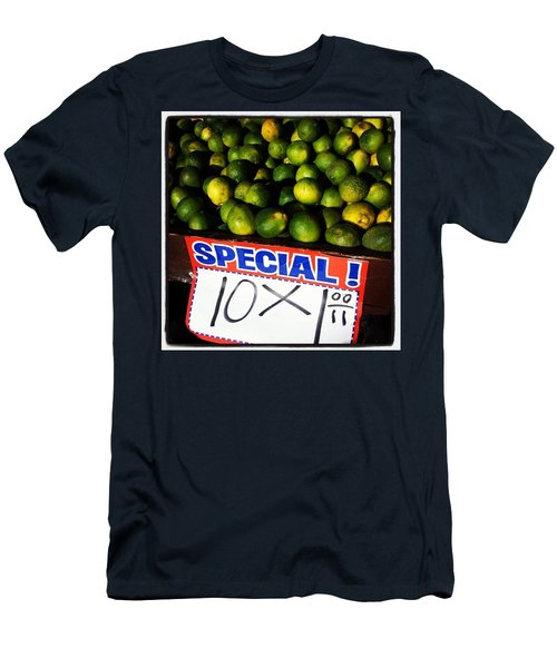 Men's T-Shirt (Athletic Fit) featuring the photograph What Lime Shortage? #dontbelievethehype by Mr Photojimsf