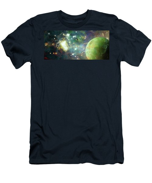 What's Out There Men's T-Shirt (Athletic Fit)