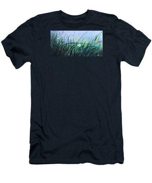 When The Rain Is Gone Men's T-Shirt (Slim Fit) by Kume Bryant