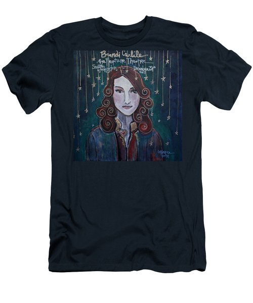 When The Stars Fall For Brandi Carlile Men's T-Shirt (Athletic Fit)