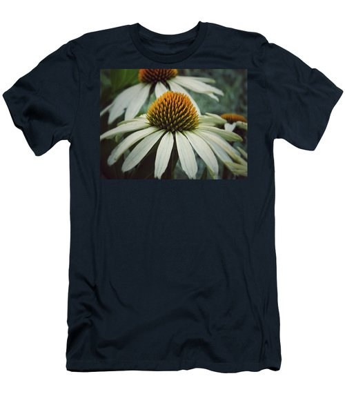 Men's T-Shirt (Slim Fit) featuring the photograph White Swan by Karen Stahlros
