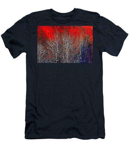 White Trees Men's T-Shirt (Slim Fit)