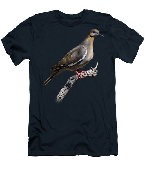 White-winged Dove V53 Men's T-Shirt (Athletic Fit)