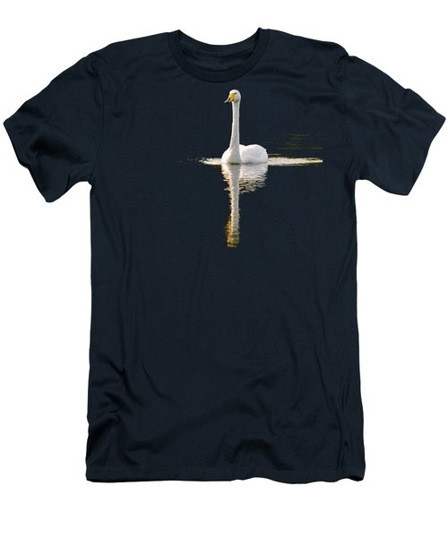 Whooper Swan Transparent Men's T-Shirt (Athletic Fit)
