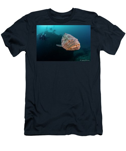 Wilbur The Ham Men's T-Shirt (Athletic Fit)