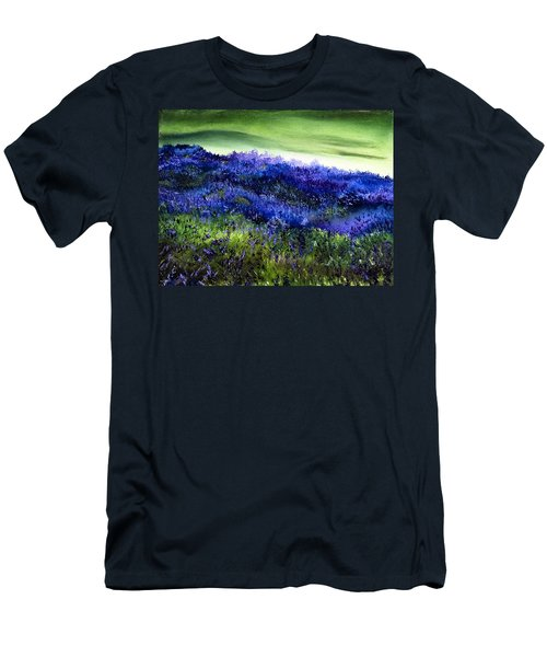 Wild Lavender Men's T-Shirt (Athletic Fit)