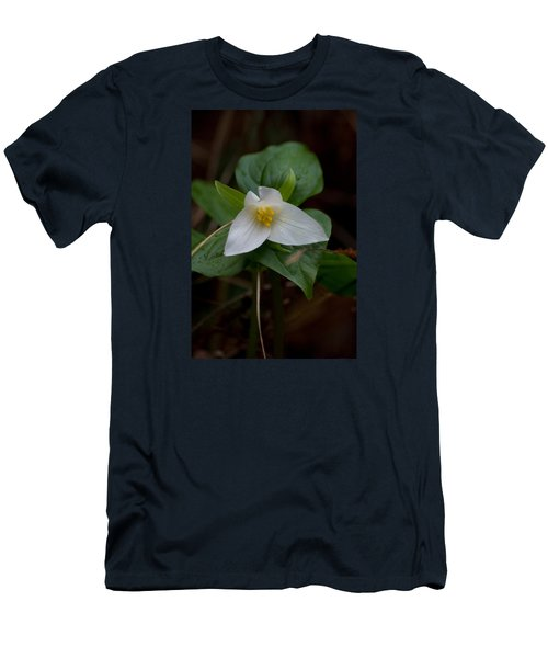 Wild Lily Men's T-Shirt (Slim Fit) by Adria Trail
