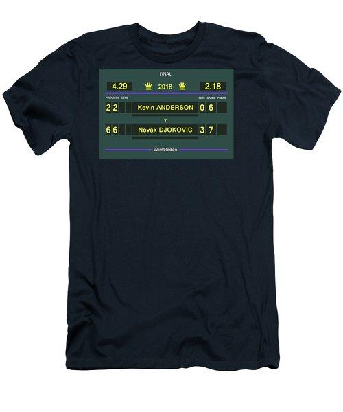 Wimbledon Scoreboard - Customizable Men's T-Shirt (Athletic Fit)
