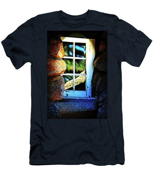 Window In Rock Men's T-Shirt (Athletic Fit)