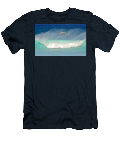 Windsurfer In The Spray Men's T-Shirt (Athletic Fit)