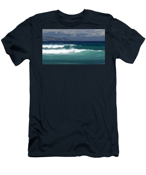 Windswept Ho'okipa Men's T-Shirt (Athletic Fit)
