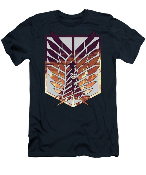 Wings Of Freedom Men's T-Shirt (Athletic Fit)