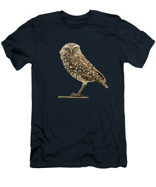 Winking Owl Men's T-Shirt (Athletic Fit)