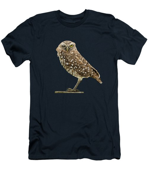 Winking Owl Men's T-Shirt (Athletic Fit)