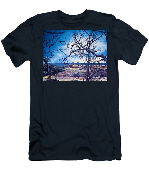 Winter Branches Men's T-Shirt (Athletic Fit)
