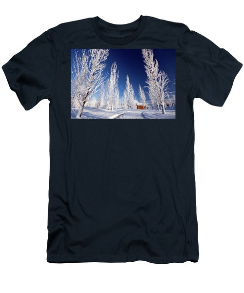 Winter Landscape Men's T-Shirt (Athletic Fit)
