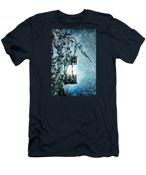 Winter Lantern Men's T-Shirt (Athletic Fit)