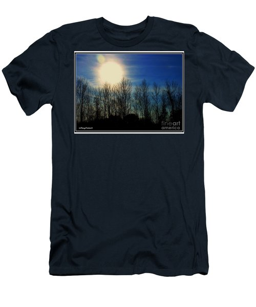 Winter Morning Men's T-Shirt (Slim Fit) by MaryLee Parker