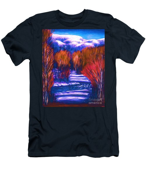 Winter Shadows  Men's T-Shirt (Athletic Fit)