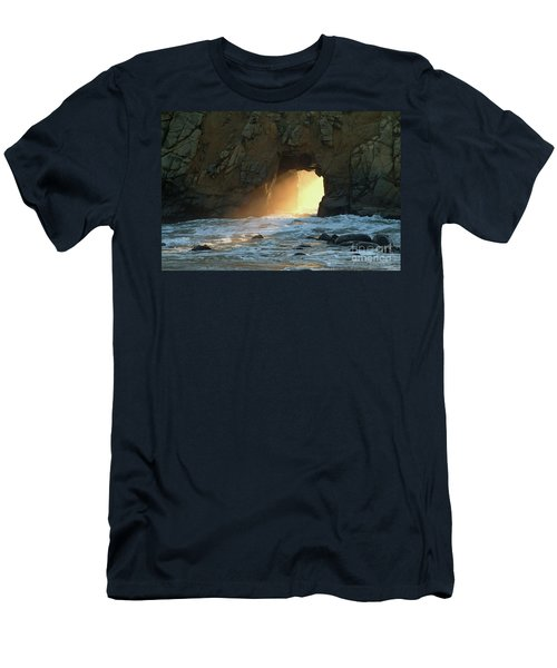 Winter Solstice Sunset In Big Sur Men's T-Shirt (Athletic Fit)