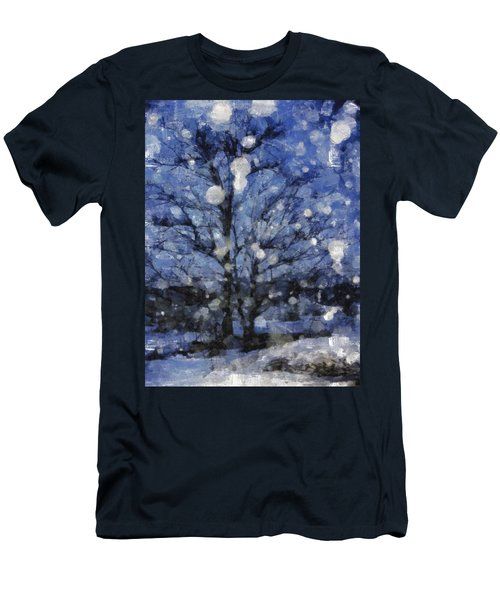 Winter Storm Men's T-Shirt (Athletic Fit)