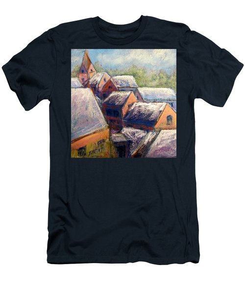 Winter Village Men's T-Shirt (Athletic Fit)