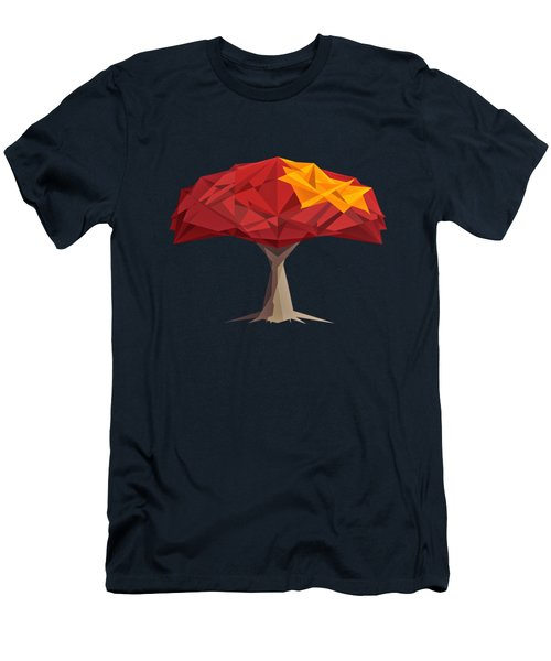 Wired Tree  Men's T-Shirt (Athletic Fit)