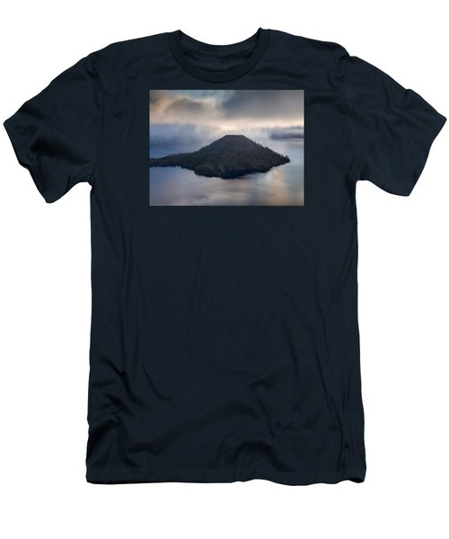Wizard Among The Mists Men's T-Shirt (Slim Fit) by Greg Nyquist